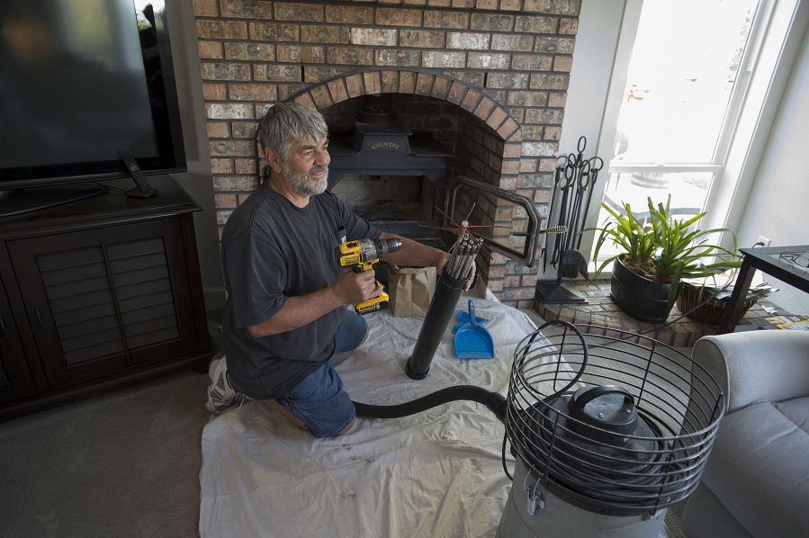 Working In Clark County Dan Dilley A Your Town Chimney Clark County Home Maintenance Cleaners