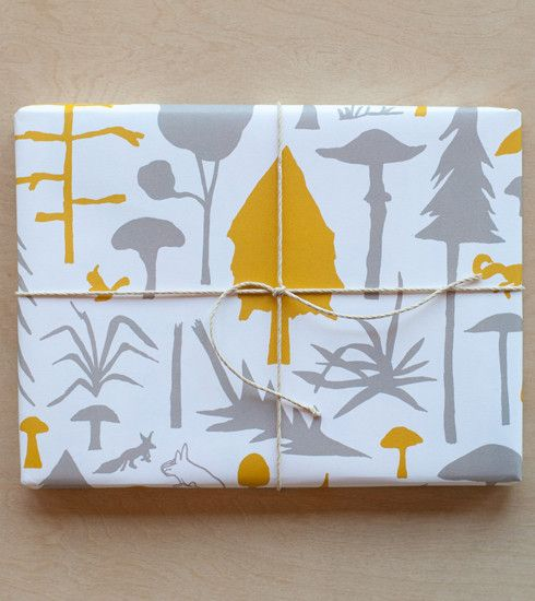 Wilderness (Experience) Gift Wrap : Ochre