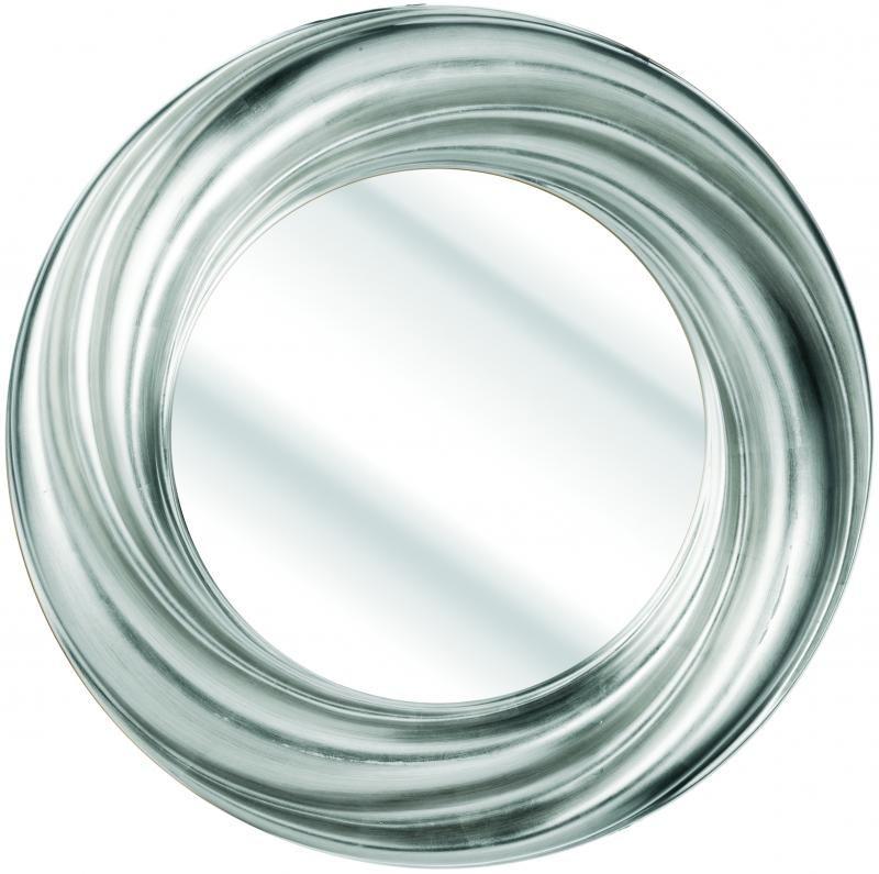 23ab64aaf69 Silver Swirl Framed Round Mirror. (CAP8) - Soraya Interiors UK ...
