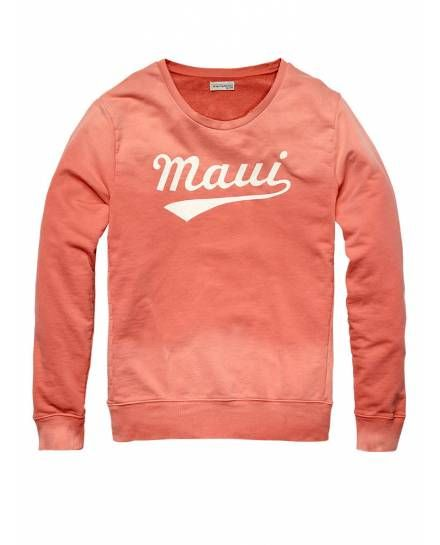 COLOURED 'MAUI' SWEATER