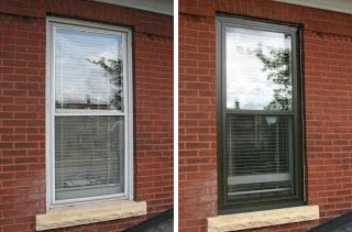 Minneapolis Allied Aluminum Allied S Storm Window Panning Window Trim Exterior Outdoor Window Trim Black Exterior Doors