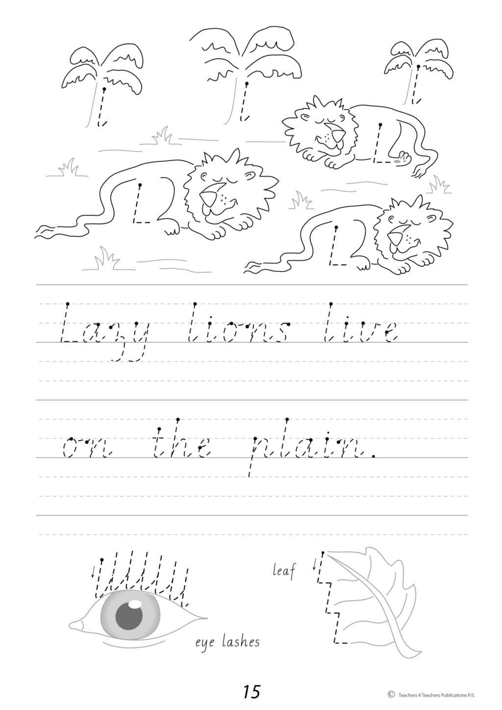 Cursive Sentences Worksheets Printable Worksheet