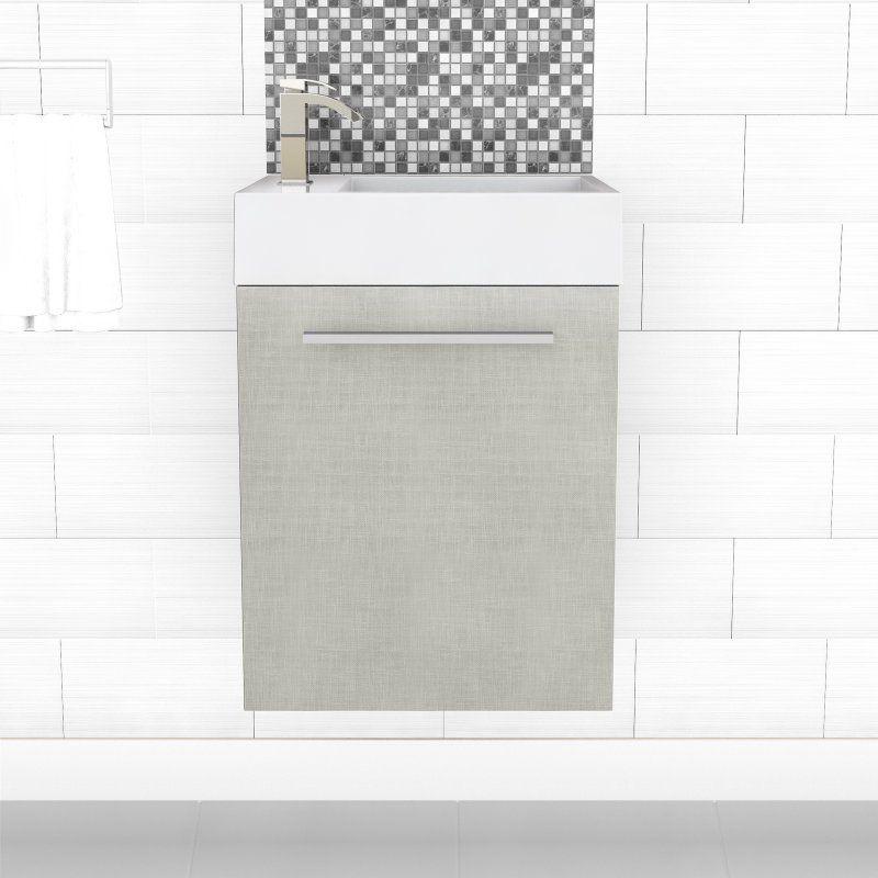 Pic On Cutler Kitchen u Bath in Space Saver Bathroom Vanity FV EURO