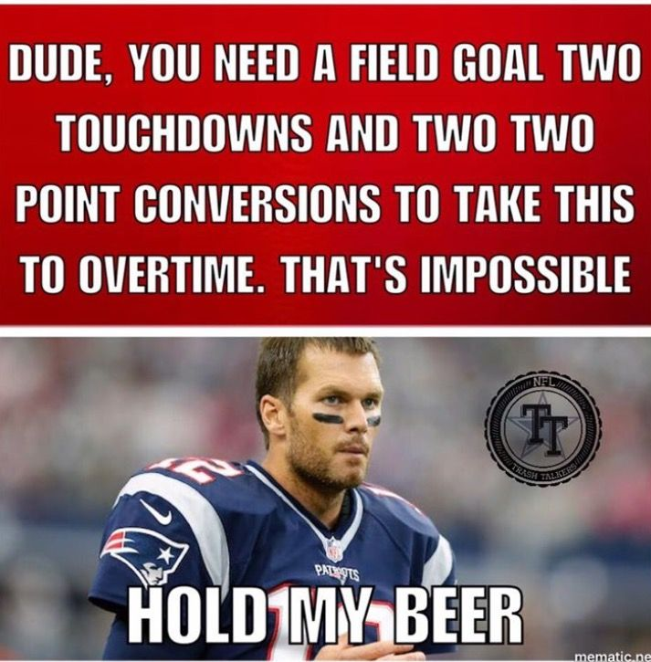 New England Patriots 24 Atlanta Falcons 28 2 5 17 Super Bowl 51 Li Patriots Memes New England Patriots Football Patriots