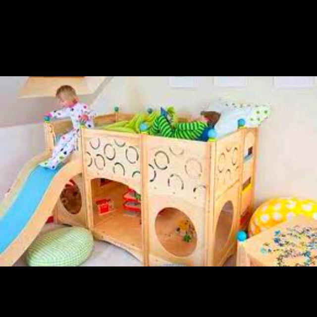 Fun Toddler Bunk Bed