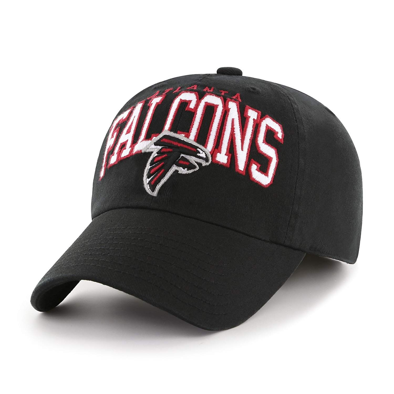 e8b28ab2a OTS NFL Atlanta Falcons Adult Tomlin Stretch Fit Hat