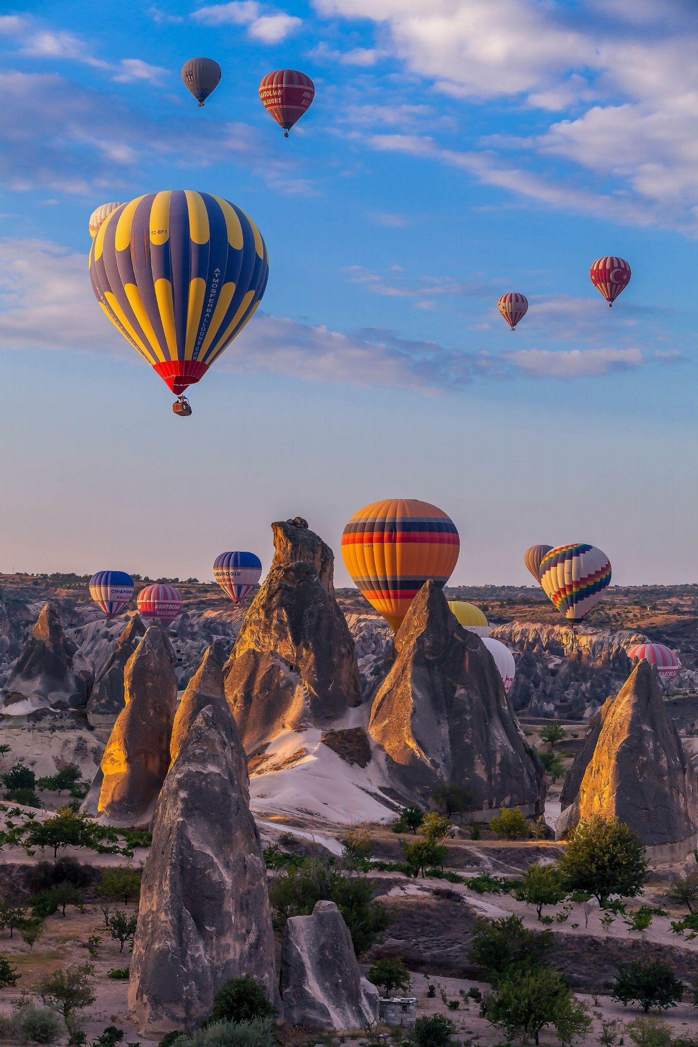 Good Morning Cappadocia by Robert Mehlan on 500px
