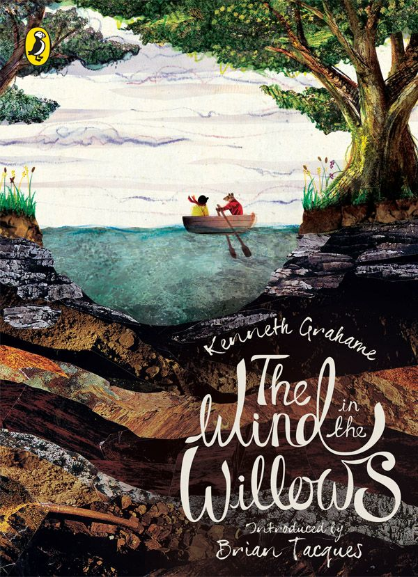 """""""The Wind in the Willows"""" by Kenneth Grahame. Cover illustration by Megan Edwards"""