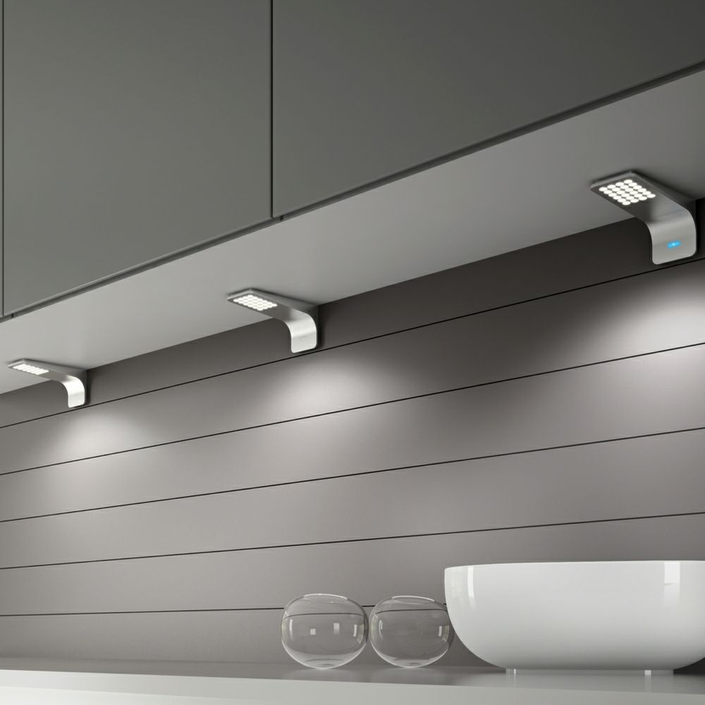modica led under cabinet surface mounted light condo living