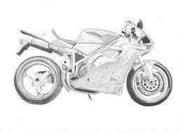 Resultado De Imagen Para Dibujos A Lapiz De Motos Motos Dibujos
