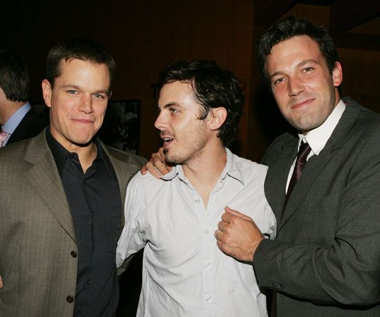 Happy Birthday Matt Damon See The Family Man And Fab Friend At 42 Affleck Brothers Ben And Casey Affleck Matt Damon