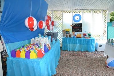 Beach Party Tons Of Ideas And Decorations Beach Birthday Party