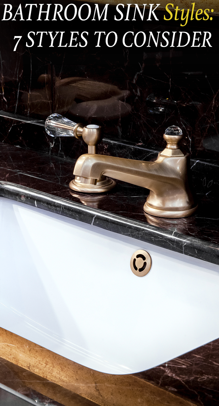 Bathroom Sink Styles 7 Types To Consider In 2018 Bathroom - Which-type-of-bathroom-sink-is-right-for-you