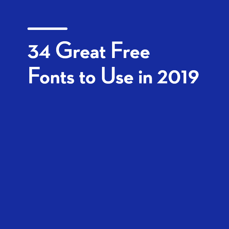 34 Great Free Fonts to Use in 2019 Free font, Funky