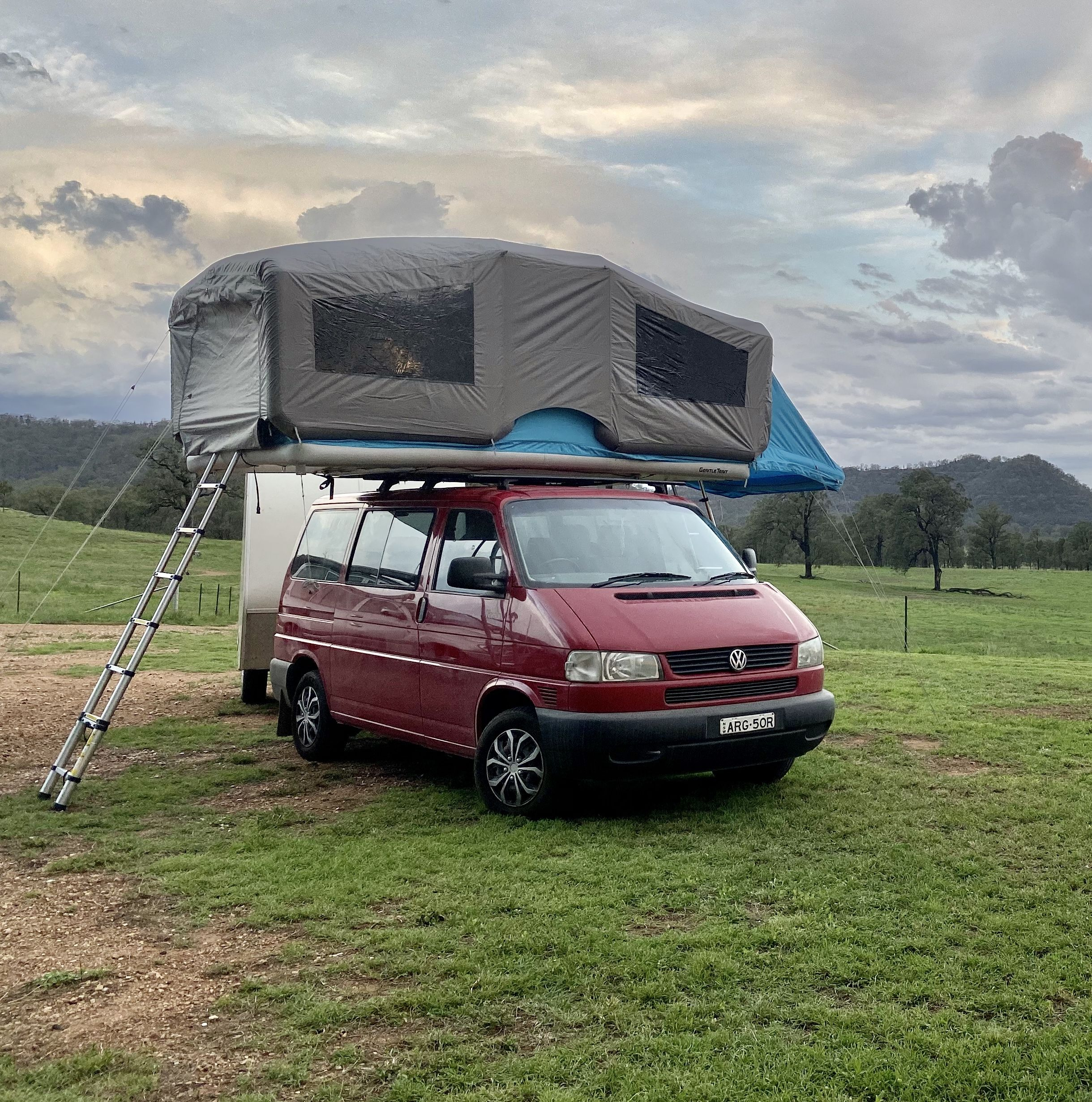 Gt Skyloft With Storm Cover In 2020 Roof Top Tent Australia Tent