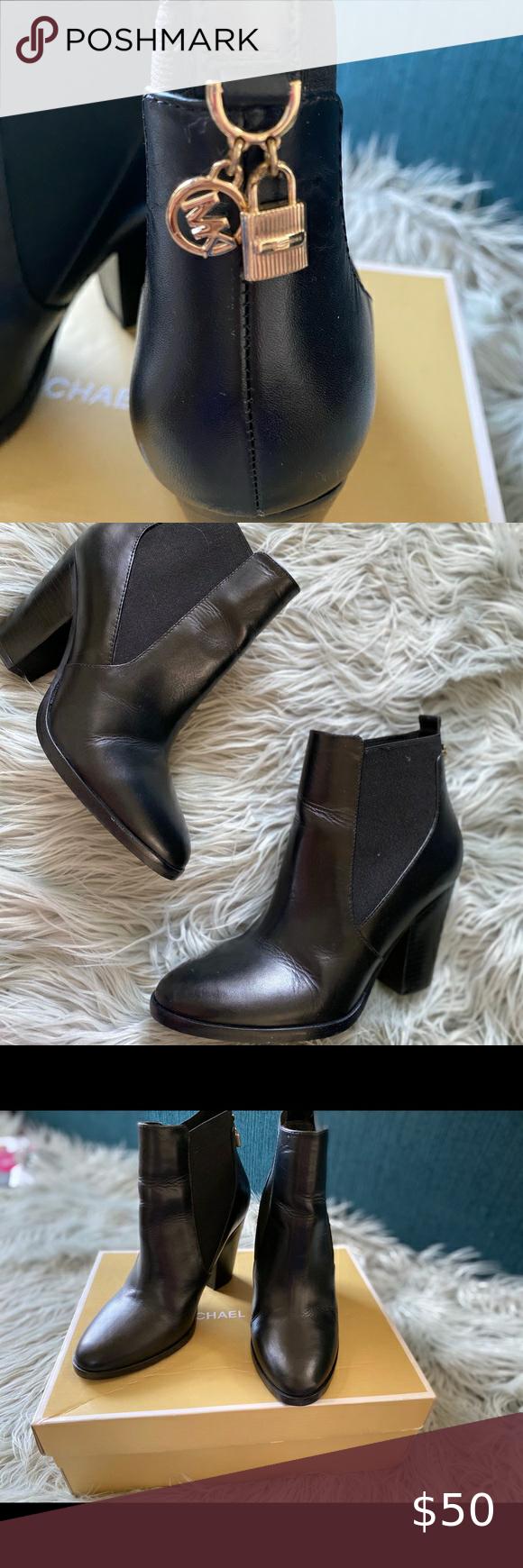 Michael Kors Jillian Bootie Leather in