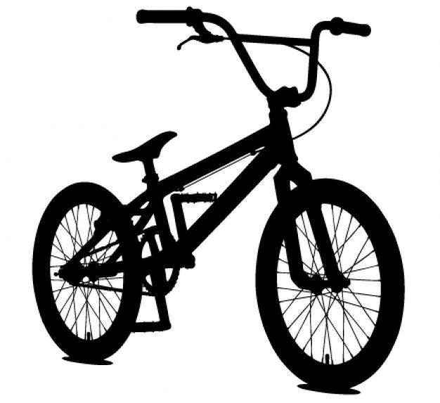 Silueta de bicicleta bmx deportes sports pinterest - Dessin bicyclette ...