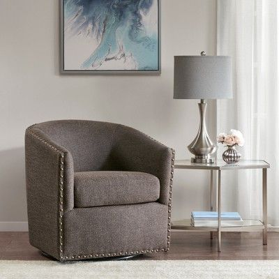 chocolate brown living room chairs country cottage decor sheldon swivel chair products