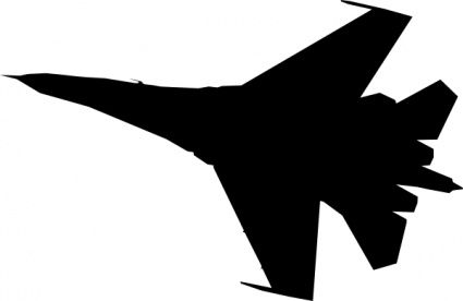 airplane fighter silhouette clip art vector free vectors vector rh pinterest co uk aircraft clipart silhouette aircraft clipart free