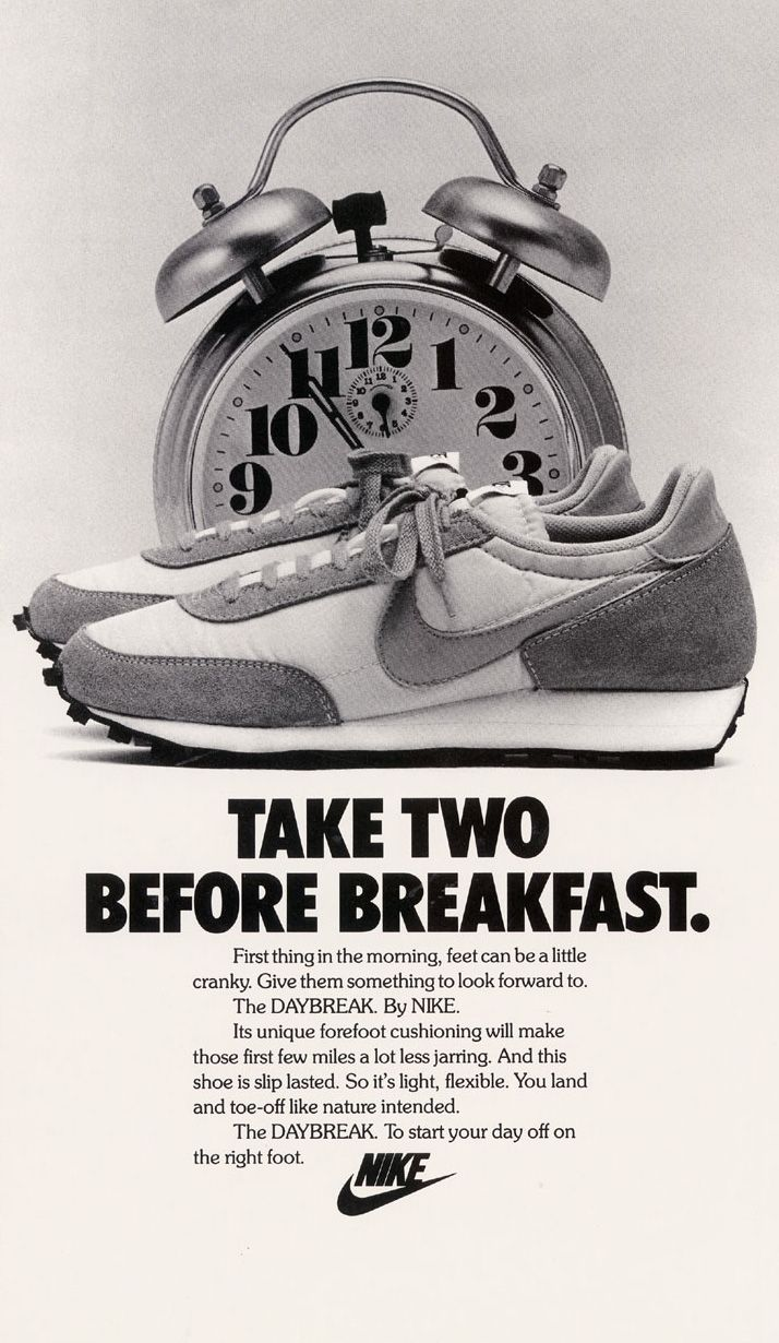 Nike Daybreak, 1980 , Just like a good wine, this was a great year