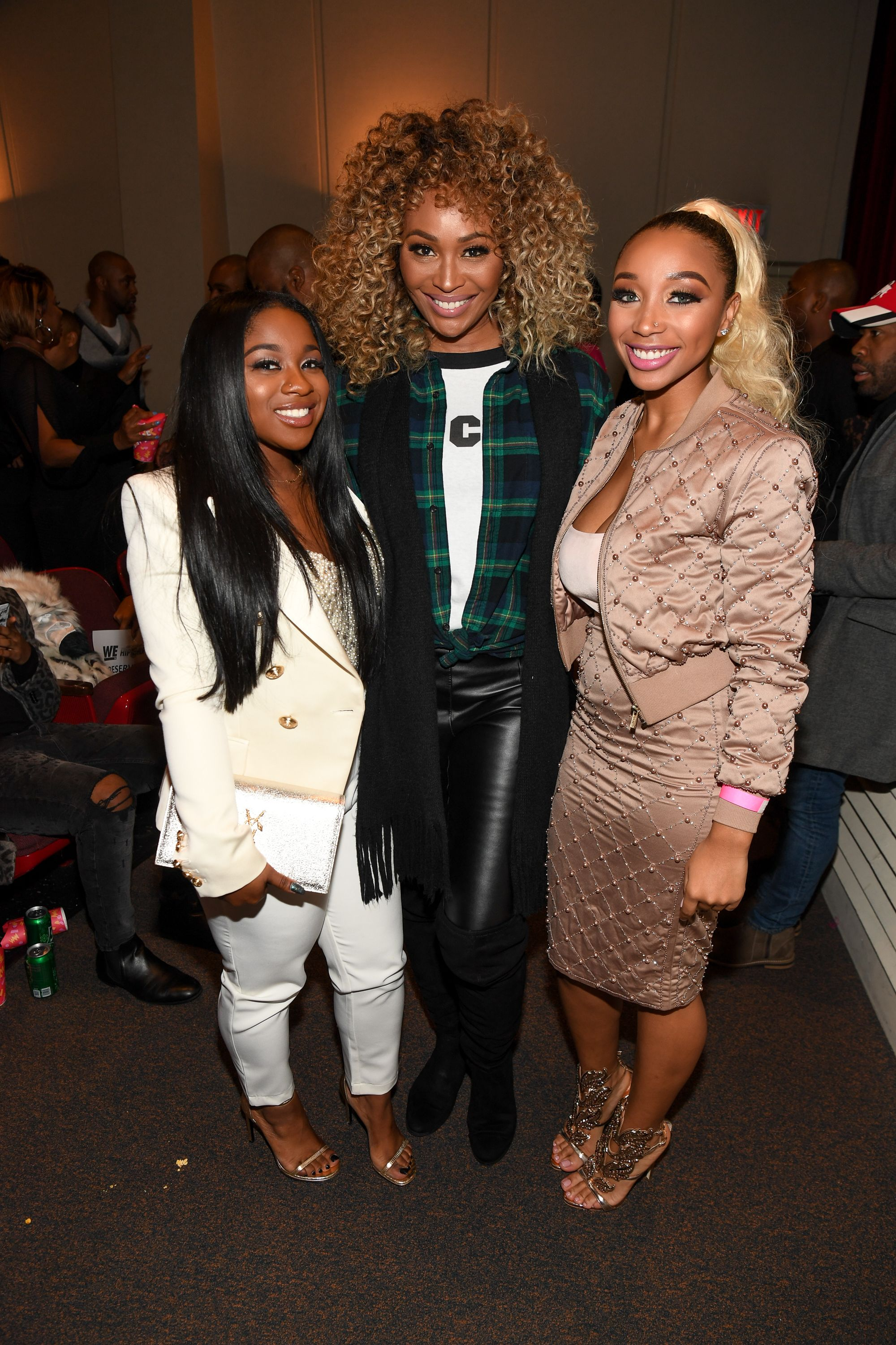 Reginae Carter, Cynthia Bailey and Zonnique 🦋🦋🦋 (With