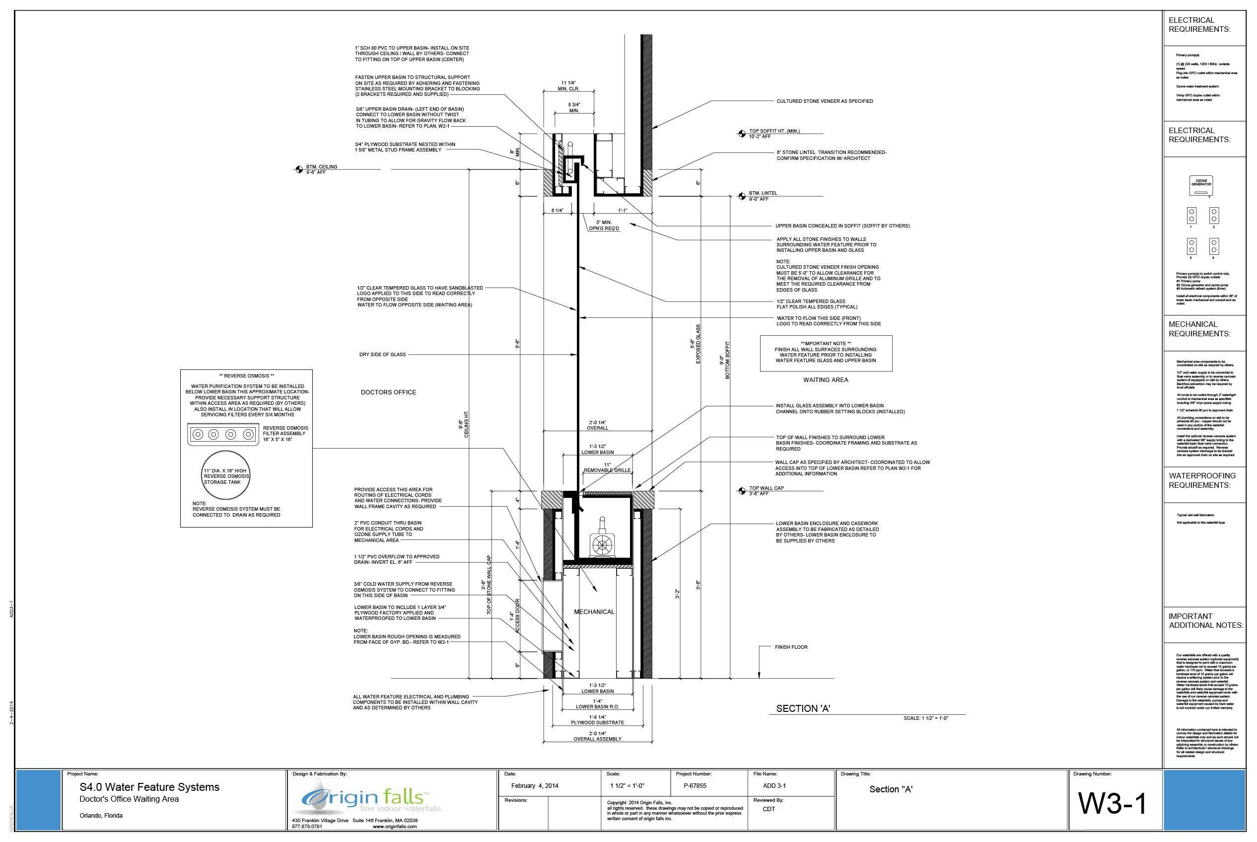 Indoor Waterfall Design Design A Custom Water Feature Tabletop Fountain Custom Water Feature Water Walls