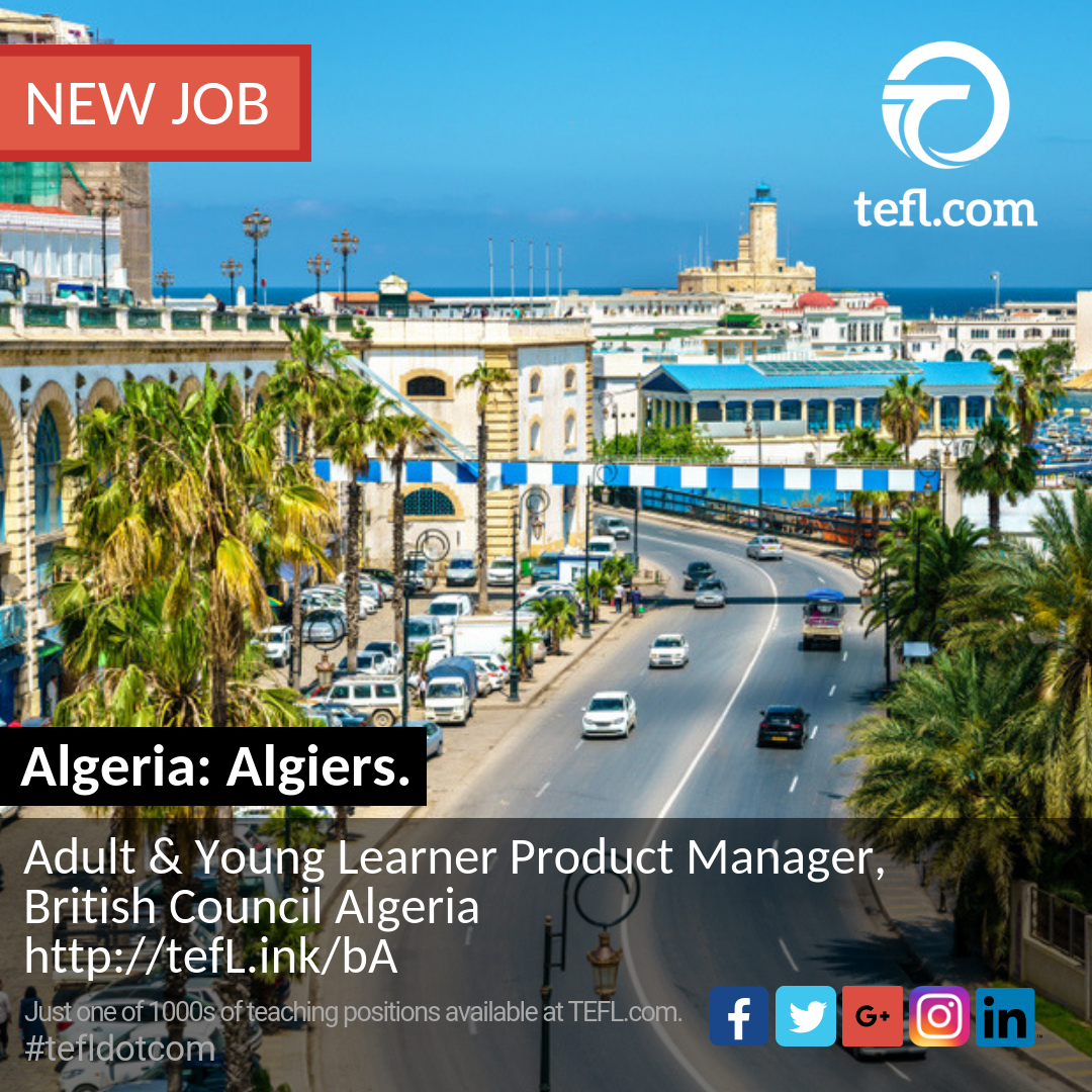 Algeria Algiers Adult Amp Young Learner Product
