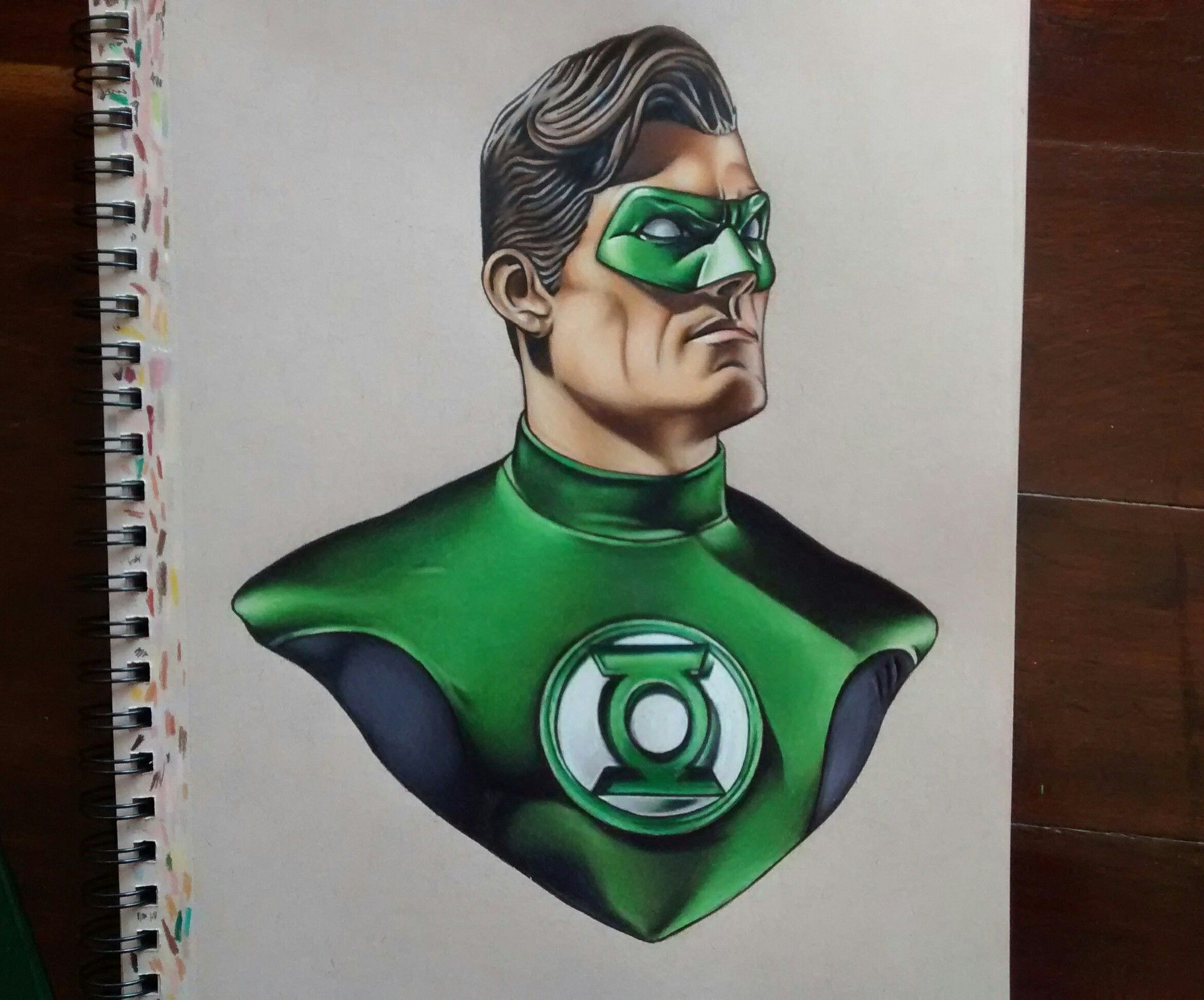 Artstation Green Lantern Drawing Lautaro Schipizza Desenhos Novos Lanterna Verde Desenhos