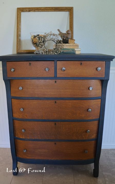 Two Tone Chest Of Drawers Furniture Painted Furniture