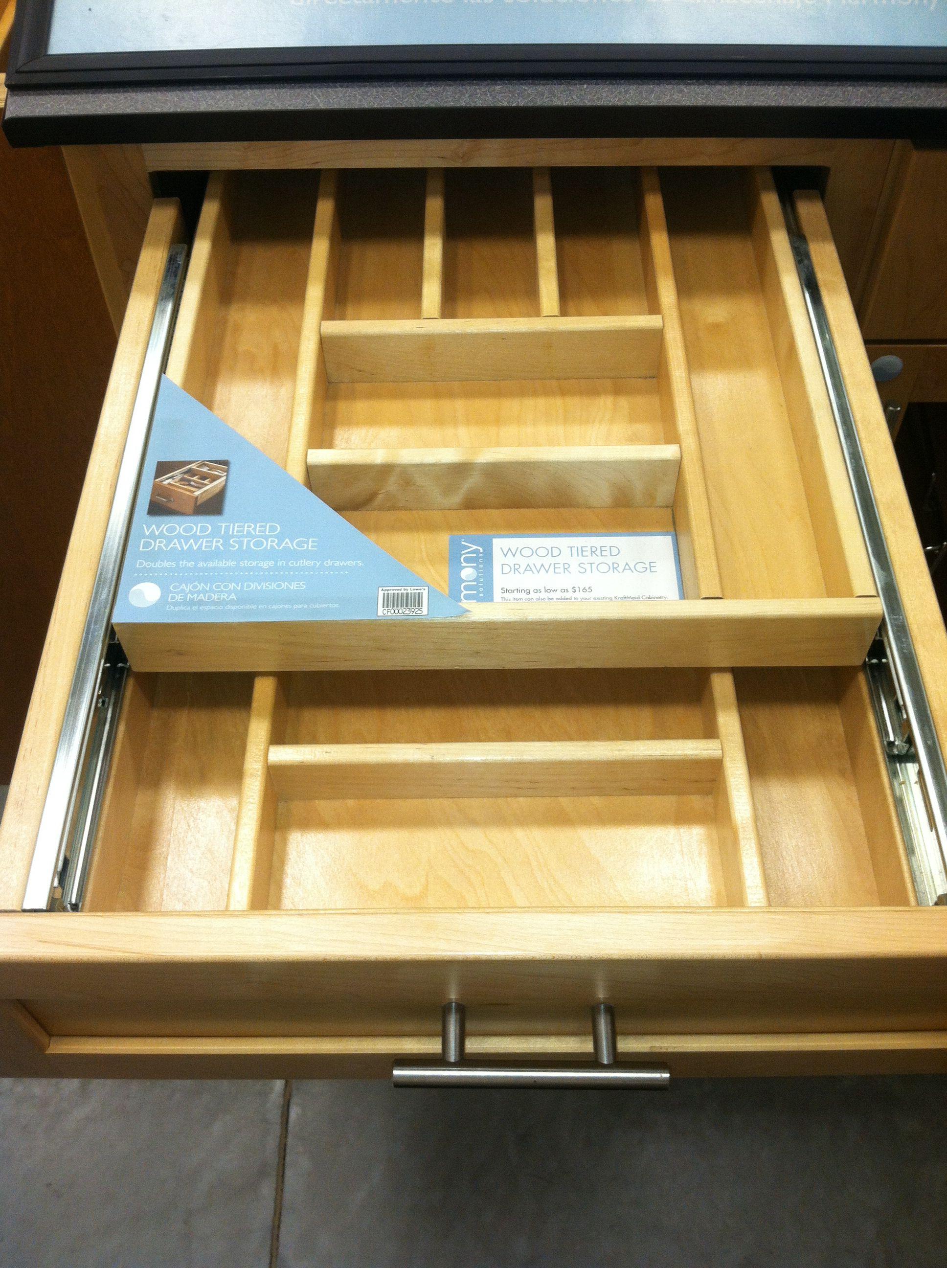 Doublelayer drawer organization or tool drawer junk drawer supply