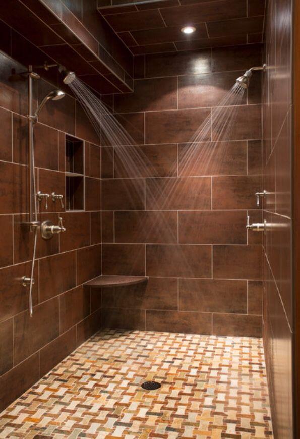 Multi shower | Bathroom | Pinterest