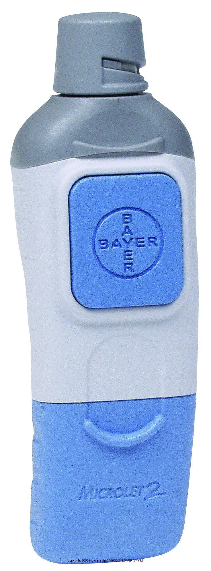 Bayer Microlet 2 Adjustable Lancing Device Lancing