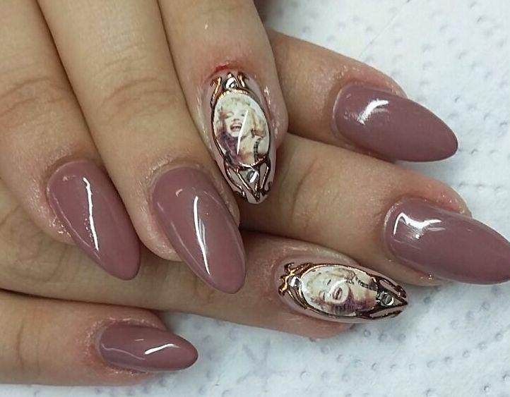 Marilyn Monroe Nails by Tanya Angelova #marylinmonroe ...