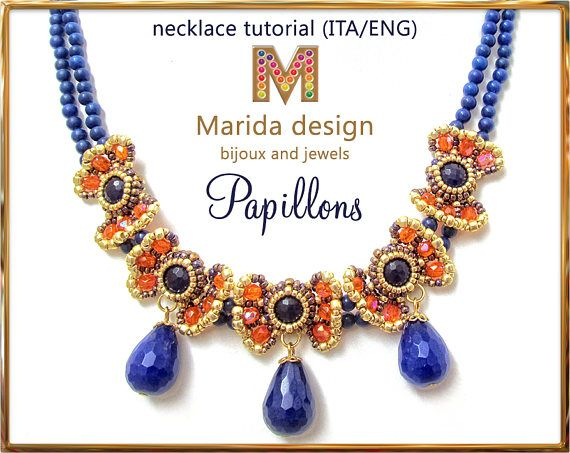 Tutorial papillons necklace bonus tutorial jewelry for Tutorial papillon