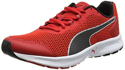 Puma Descendant V4, Zapatillas de Running para Hombre, Rojo (High Risk Red-Puma Black-Puma Silver 11), 40 EU