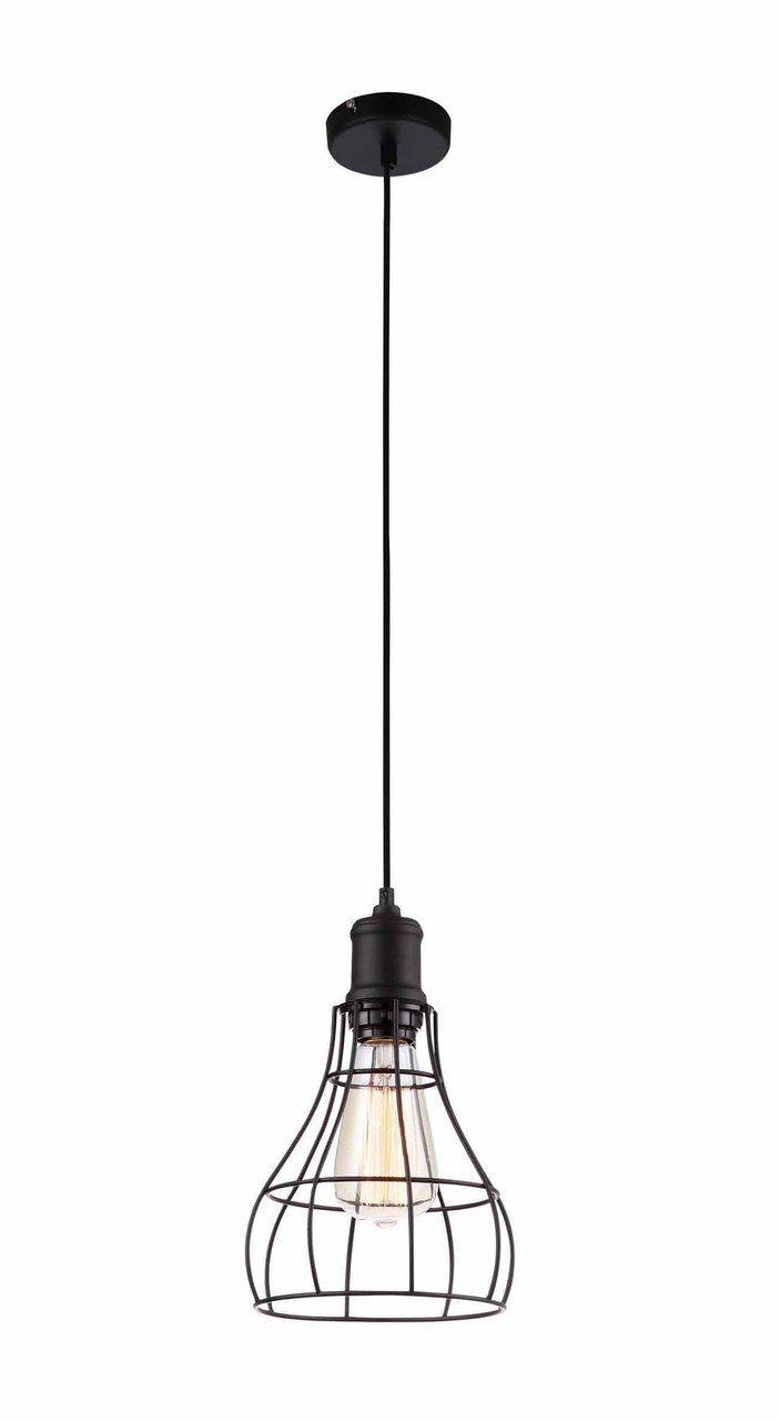 Nostalgic Bulbs - Nostalgic Industrial Black caged Pendant ...
