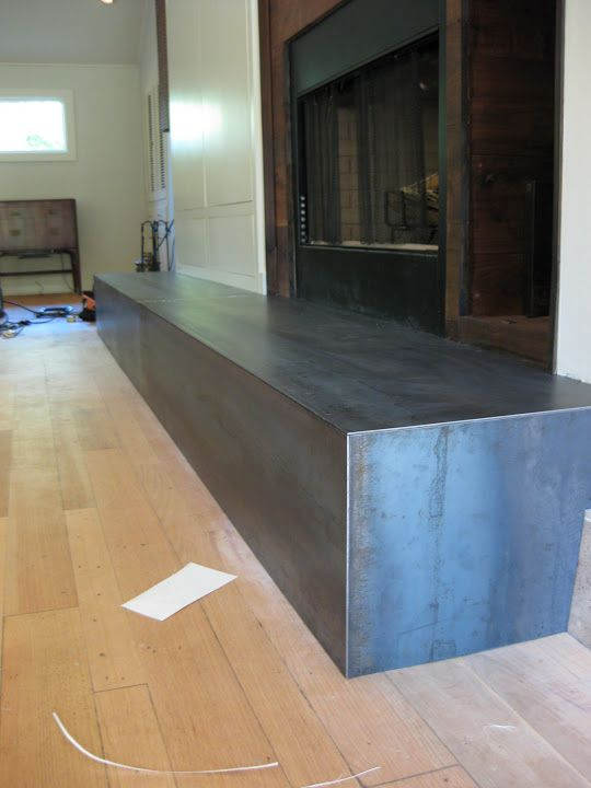 Hot Rolled Steel Fireplace Hearth