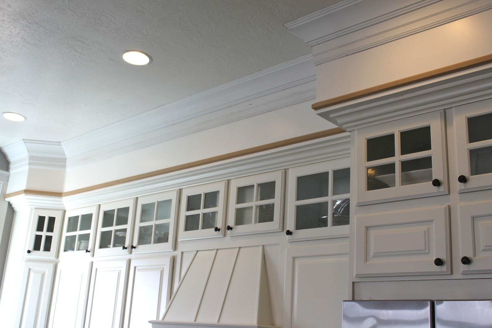 Ideas For Kitchens With Soffits Google Search Kitchen Soffit Above Kitchen Cabinets Upper Kitchen Cabinets
