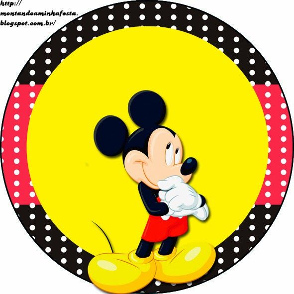 Montando A Minha Festa Mickey Festa Mickey Mickey Mickey Mouse