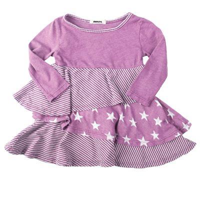 Joah Love Star Layered Dress; cute, cute