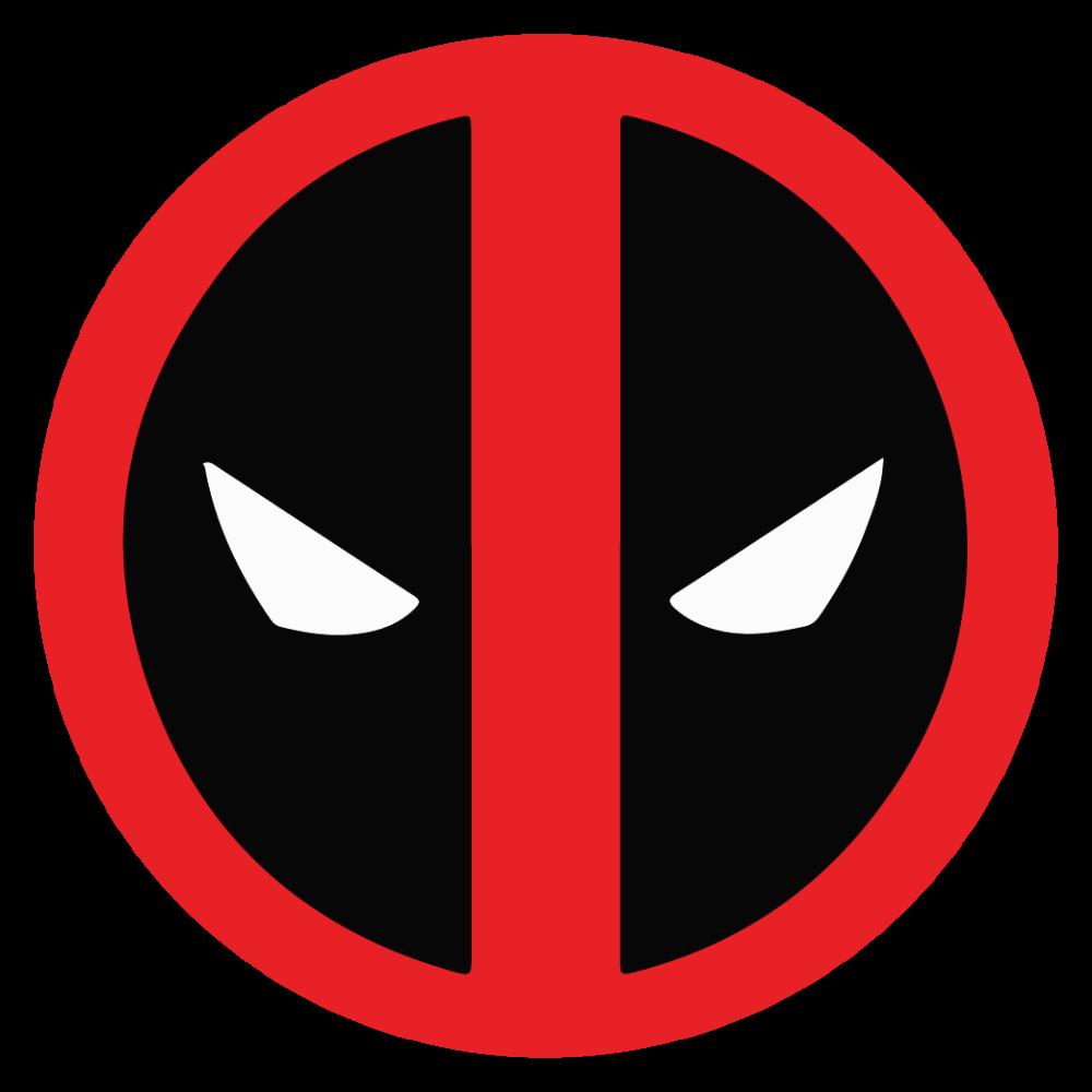 Deadpool Logo Deadpool Logo Superhero Wall Art Deadpool