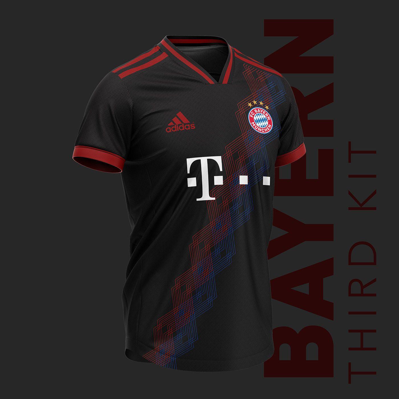 newest a9f8b f61cc Bayern München football kit 19/20. on Behance | Kit Concept 2