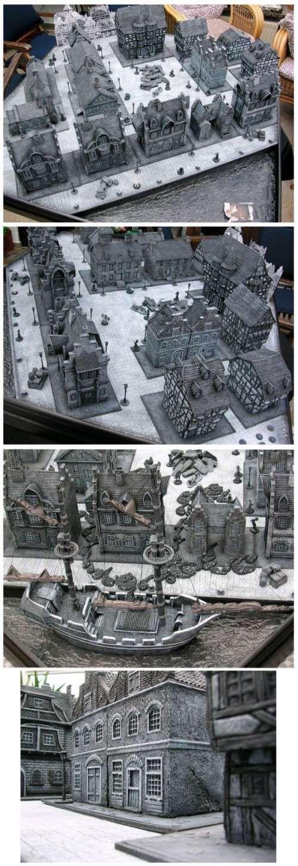 CoolMiniOrNot - Monochrome Nosferatu Gaming Board by vikotnik