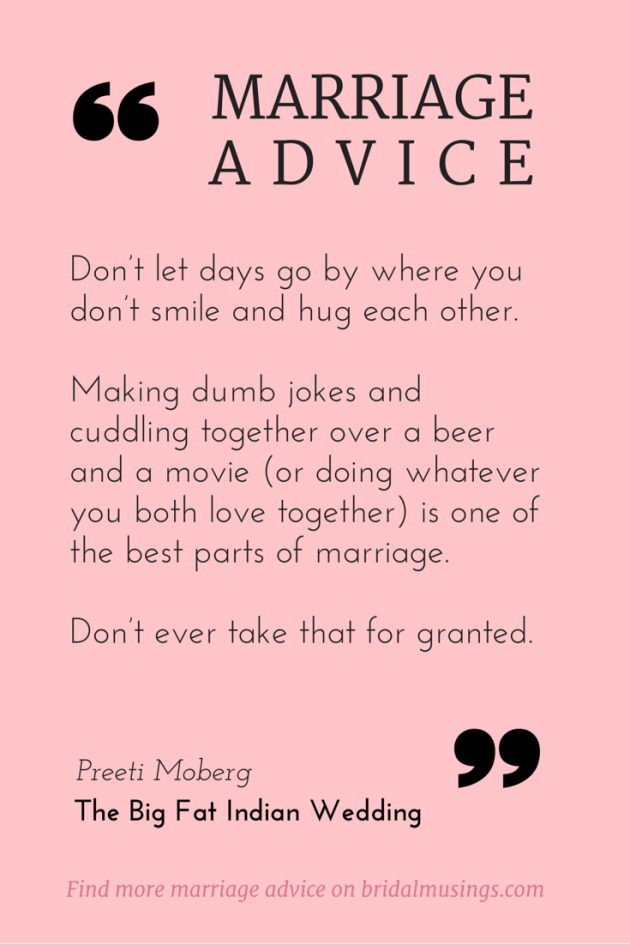 My Number One Piece of Marriage Advice Marriage advice