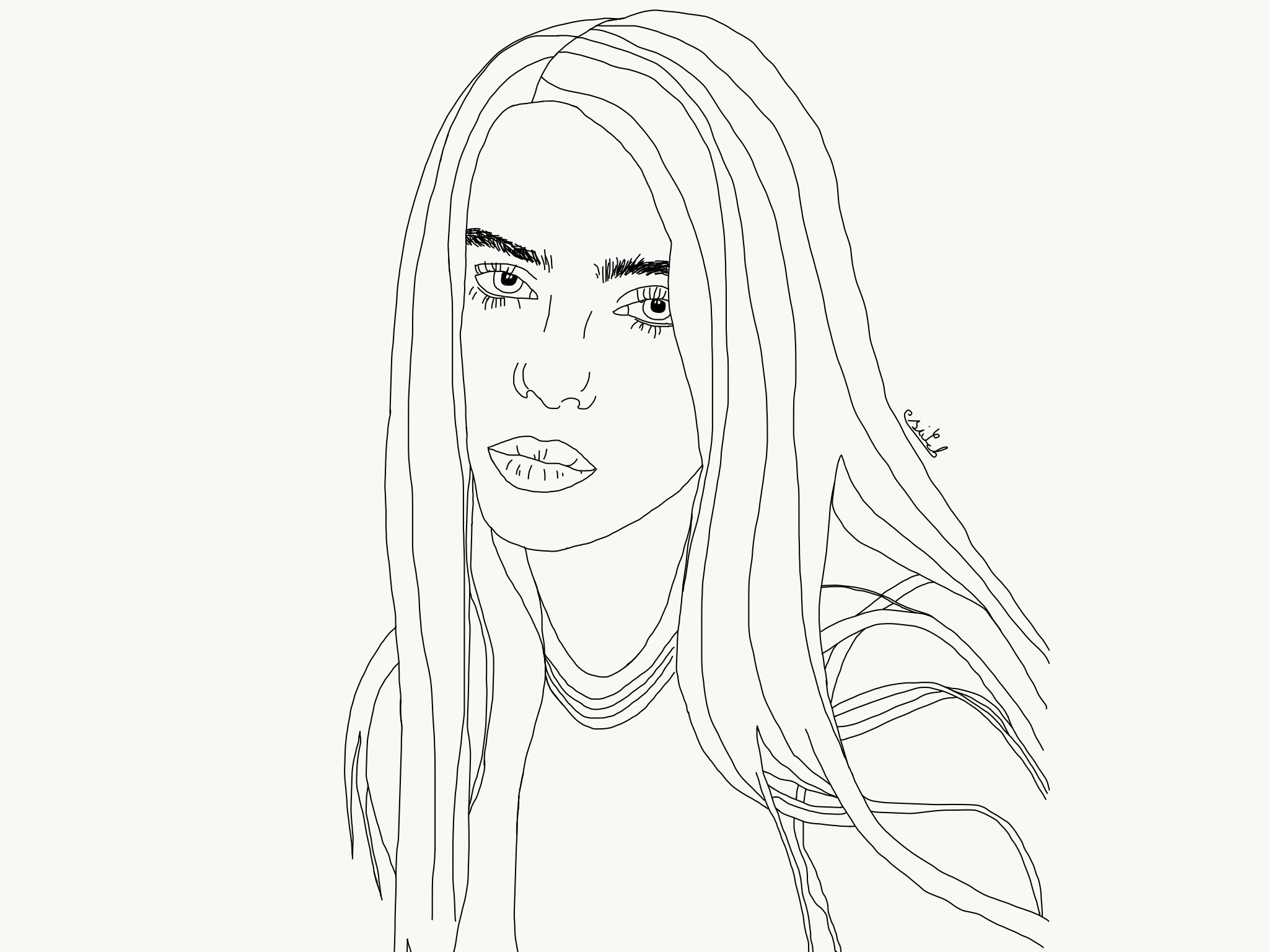 Billie Eilish With Images Billie Eilish Billie Drawings