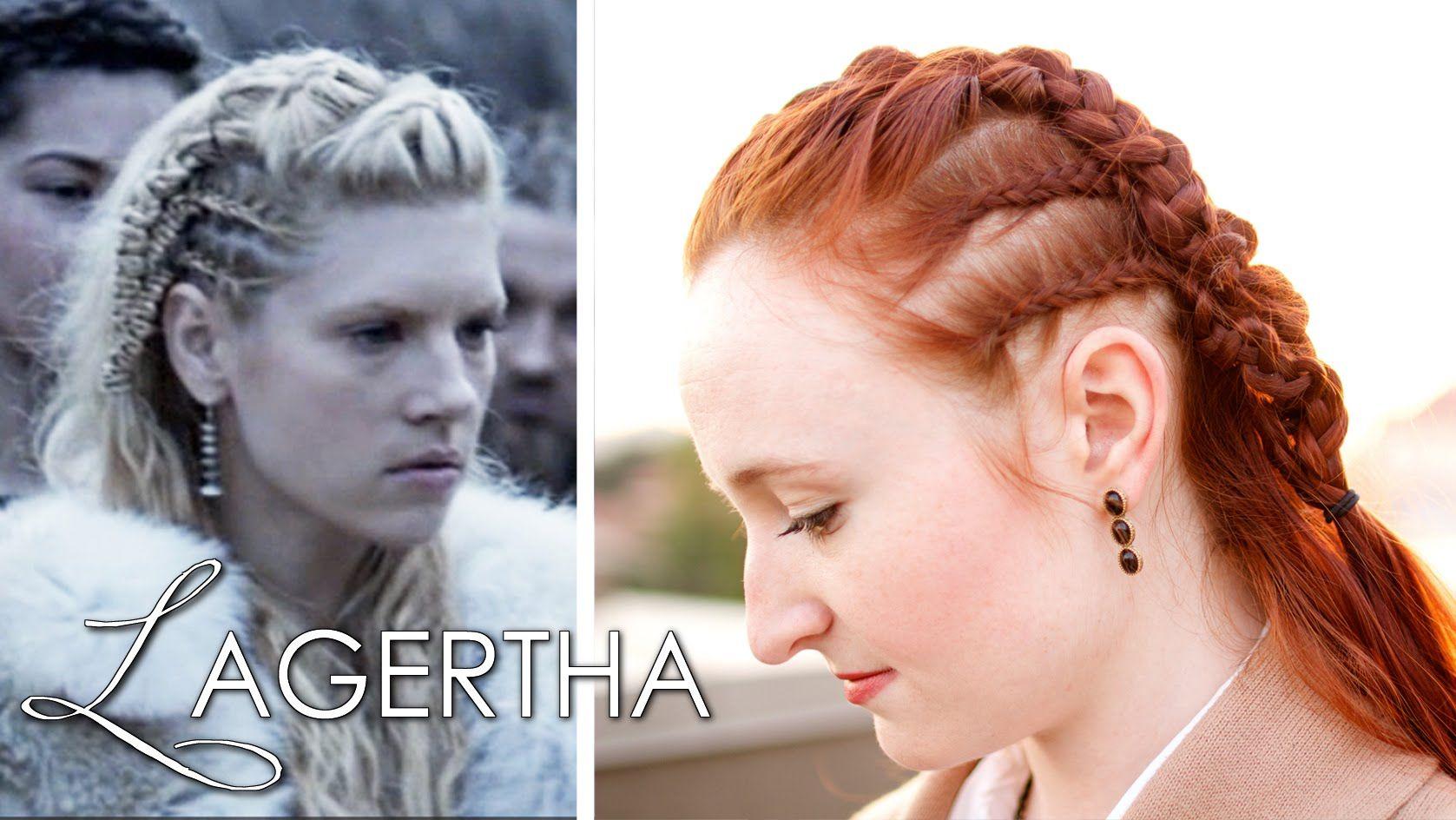 Lagertha S Earl Braids Silvousplaits Hairstyling Viking Hair Hair Tutorial Hair Styles