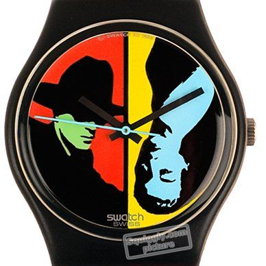 Swatch Coloured-Love GB122 - 1988 Fall Winter Collection