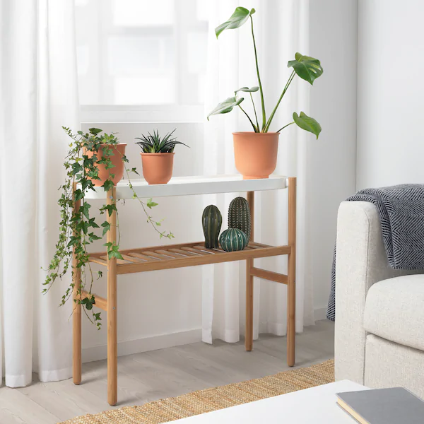 IKEA  SATSUMAS Plant stand is part of Plant stand indoor, Plant shelves, Home decor, Ikea plants, Bedroom plants, Plant stand -