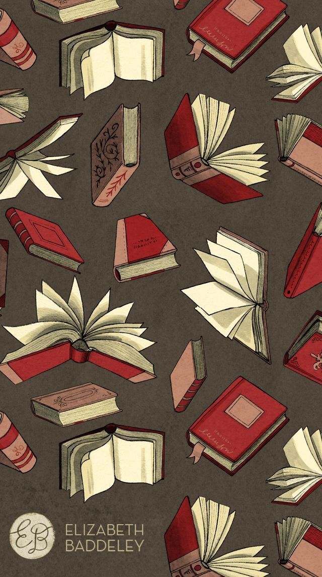 I M One Reading Lady Patterns Everywhere Books Book Wallpaper