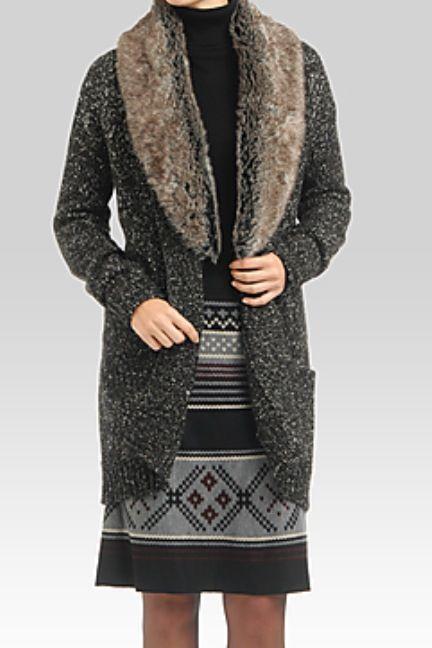 Perfect fall outfit, SOFT BOUCLÉ TURTLENECK $29.95 FAIR ISLE ...